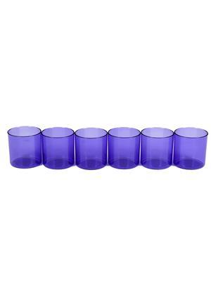 Signoraware 915 Deep Violet Glasses Set Of 6