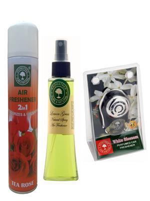 Aromatree 94tlw3007510 Air freshener Car Perfume 10 Ml Set of 3