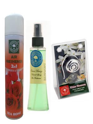 Aromatree 95tow3007510 Air freshener Car Perfume 10 Ml Set of 3