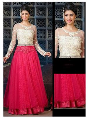 Srinaam 9705 Red Women Gown