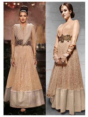 Srinaam 9709 Brown Women Gown