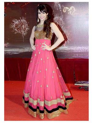 Srinaam 9711 Pink Women Gown