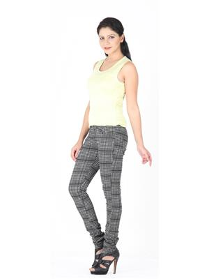CRIMSOUNE CLUB JG2516 BLACK WOMAN TROUSER
