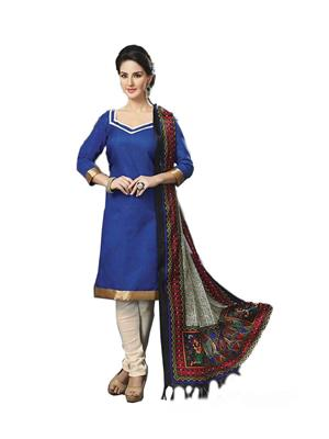 N.S Enterprise A016 Multicolored Womens Dress Materials
