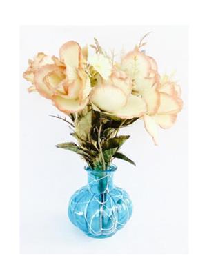 ASF A1  Blue  Flower pot