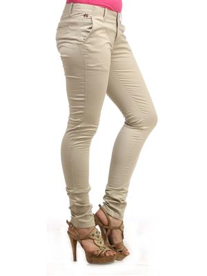 CRIMSOUNE CLUB T2157/1 CREAM WOMAN TROUSER