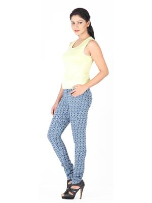 CRIMSOUNE CLUB JG2528 MULTICOLORED WOMAN TROUSER