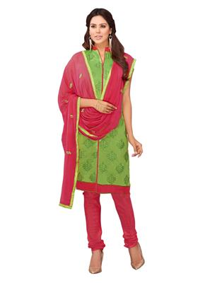 Aarushi Fashion AAR4684 Liril Green Dress Material