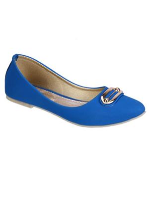 Fashion Mafia AB-7BL Blue Women Bellies