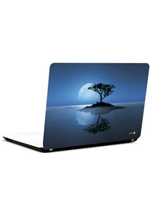 Pics And You AB039 Tree In Moon light 3M/Avery Vinyl Laptop Skin Decal