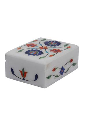Artist Haat Multicolor Marble 1 Jewellery box Showpieces