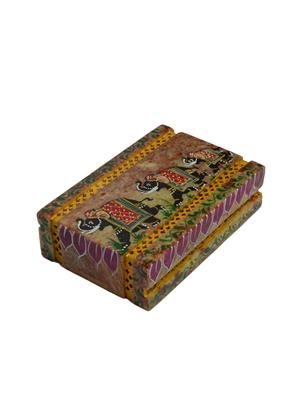Artist Haat Multicolor Stone 1 Jewellery box Showpieces