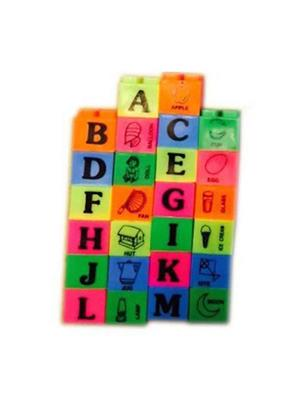 Rahul ABC Alphabet Building Block Toy