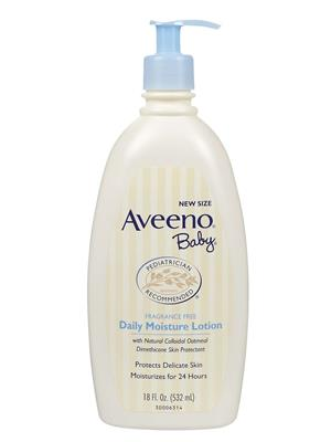 Aveeno ABDML532 Baby Daily Moisture Lotion- 532Ml