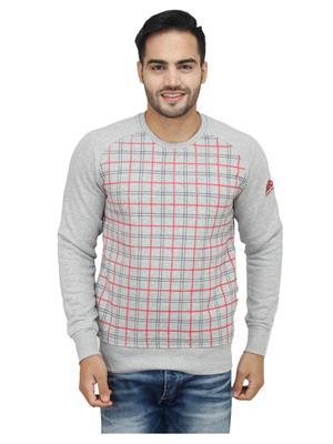 Absurd ABMS15-451 Grey Men Sweatshirts
