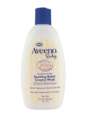 Aveeno ABSRCW236 Baby Soothing Relief Creamy Wash- 236Ml