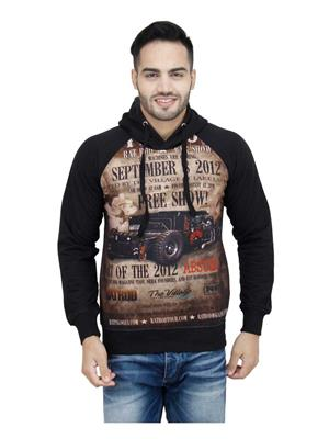 Absurd ABW S15-416 Black Men Hooded Sweatshirts