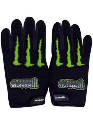 Aashirwad Craft AC10 Black Green Solid Protective Mens Gloves