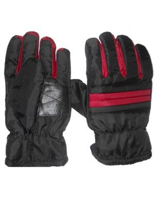 Aashirwad Craft AC11 Grey Red Solid Protective Mens Gloves