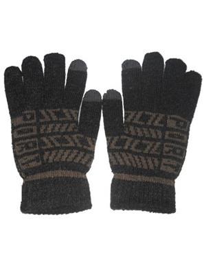 Aashirwad Craft AC7 Grey Solid Protective Mens Gloves