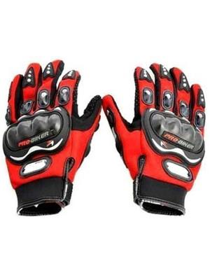 Aashirwad Craft AC9 Red Solid Protective Mens Gloves