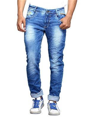 Spykar ACTIF-S15-08 Blue Slim Fit Men Jeans