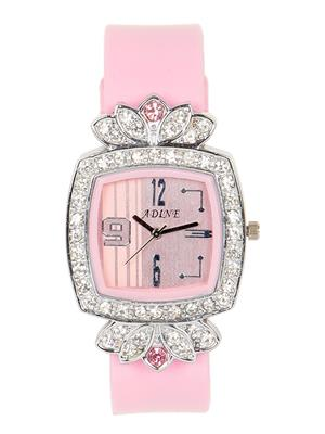 Adine  Ad-110017 Pink Women Analog Watch