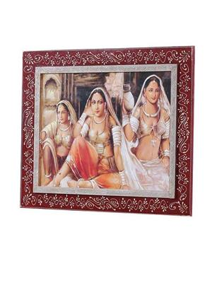 Angel Decor AD-19 Multicolored Photo Frame