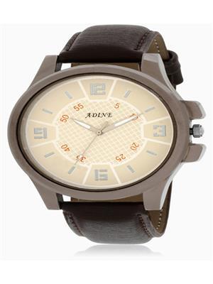 Adine  AD-6011 BROWN Men Wrist watch