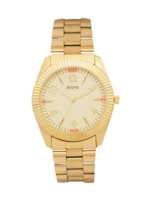 Adine 7004 Golden Men Watch