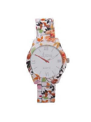 Adino AD019 White Women Analog Watch