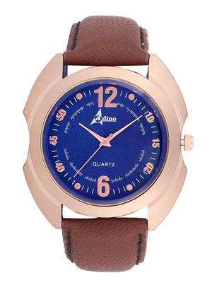Adino AD071 Brown Men Analog Watch