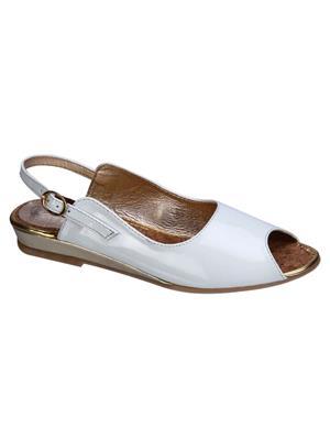 Fashion Mafia AF-10WH White Women Sandal