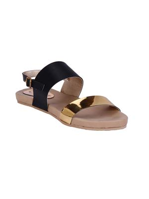 Fashion Mafia AF-11B Black Women Sandal