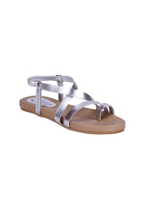 Fashion Mafia AF-12S Silver Women Sandal