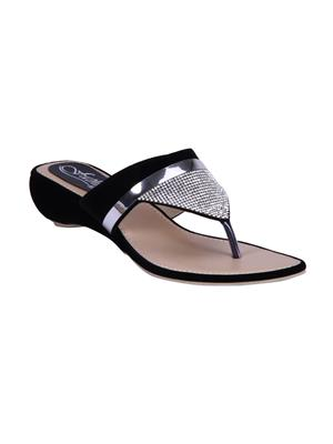 Fashion Mafia AF-20B Black Women Flats