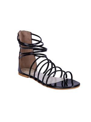 Fashion Mafia AF-22B Black Women Sandal