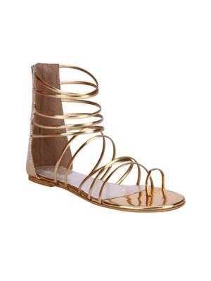Fashion Mafia AF-22G gold Women Sandal