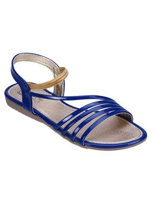 Fashion Mafia AF-2BL Blue Women Sandal