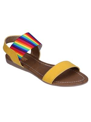 Fashion Mafia AF-4YE Yellow Women Sandal