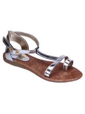 Fashion Mafia AF-5S Silver Women Sandal