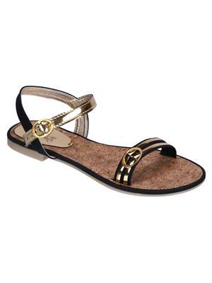 Fashion Mafia AF-6B Black Women Sandal