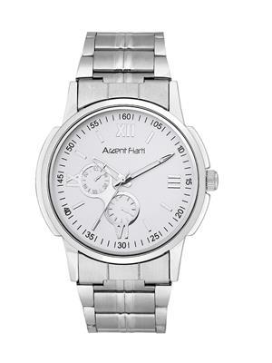 Arzent Fiarti Af1015 White-Silver Men Analog Watch