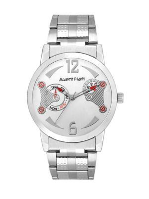 Arzent Fiarti Af1022 White-Silver Men Watch