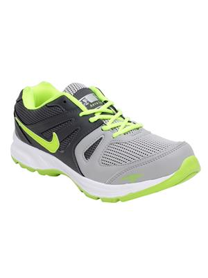 Look & Hook Af-6027L Grey-Green Men Sports Shoes