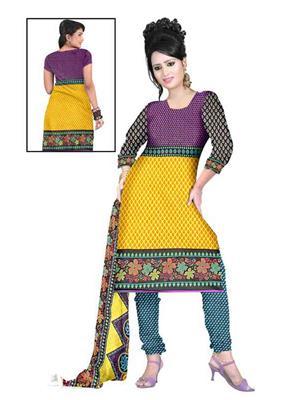Angel Silk AGFRR-32 Multicolored Women Salwar Suit