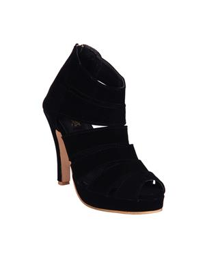 Fashion Mafia AH-6B Black Women Heels