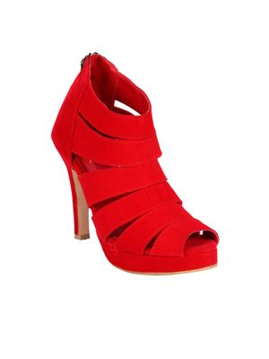 Fashion Mafia AH-6R Red Women Heels