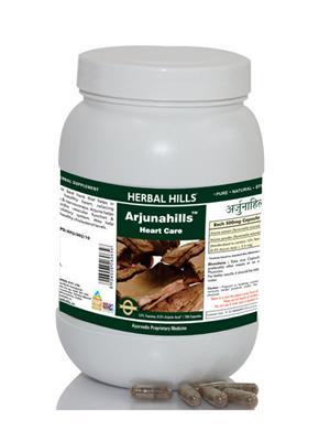 Herbal Hills Aj065 Natural Arjunahills Capsule