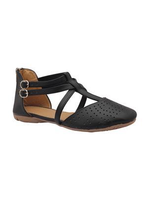 Alkawal Ak-005 Black Women Sandal